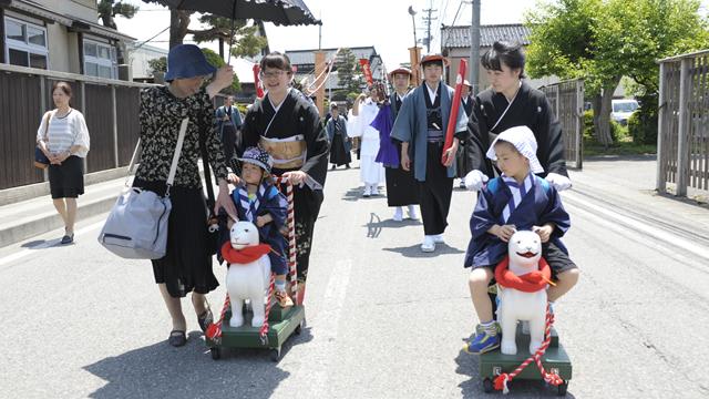6151大山犬祭り(鶴岡市)