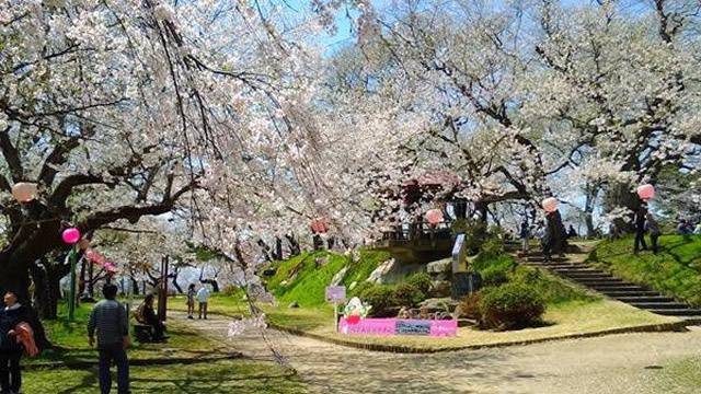 烏帽子山公園(えぼしやまこうえん)[南陽市] | 山形トレンド ...
